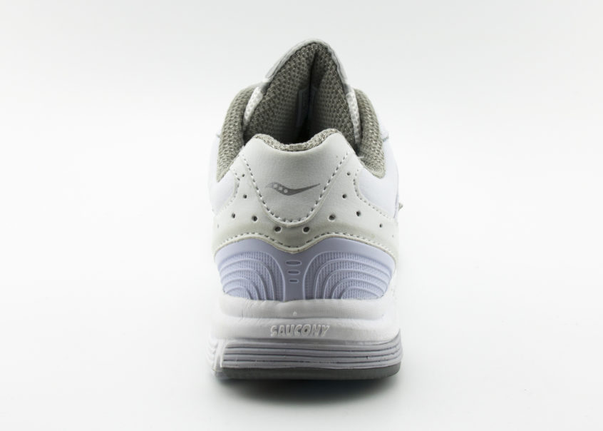 Saucony Integrity ST2 in White facing backwards