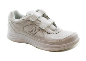 New Balance 577 Hook and Loop in White