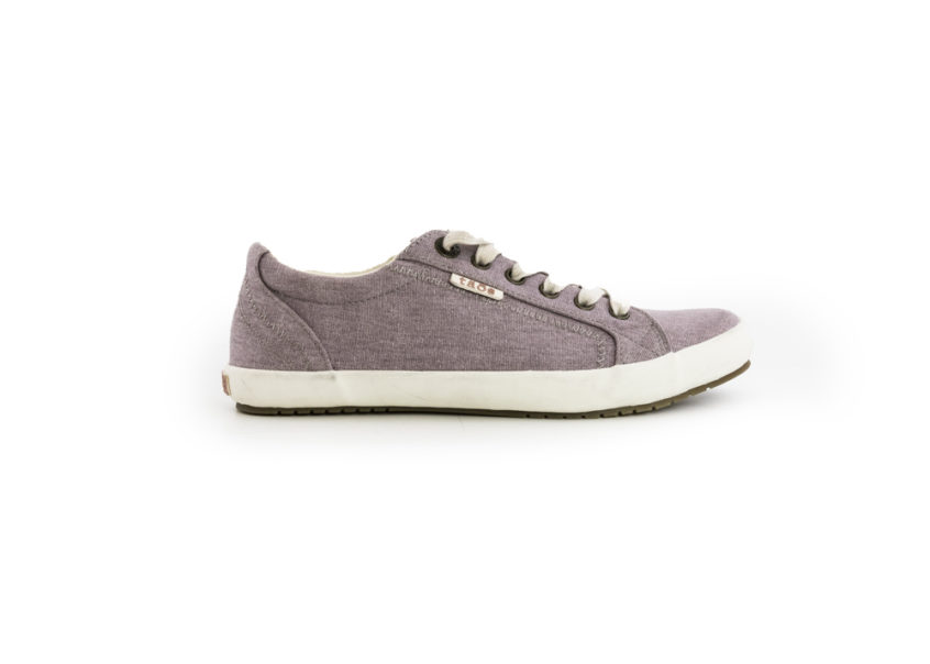 Taos Star in Mauve Washed Canvas Facing Right
