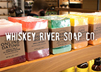 Whiskey River Soap Co. Banner