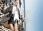 Fly London Menu Banner